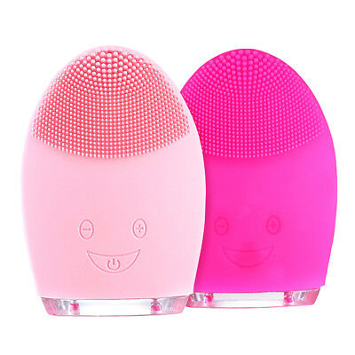 Newest Electric Face Washing Machine Ultrasonic Vibration Facial Cleansing Brush