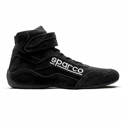 Sparco 001272105N Race 2 Driving Shoes Size: 10.5 Black