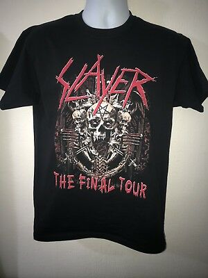 Slayer UK 2018 Tour T-Shirt (The Final Tour) LIMITED SIZES