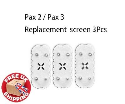 3Pcs Compatible For PAX 2 PAX 3 Replacement Oven Screens Accessories Parts