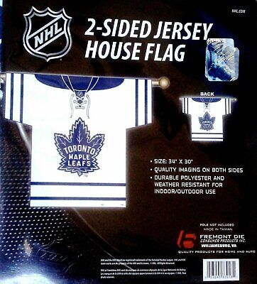 Toronto Maple Leafs Premium 2-Sided Jersey Banner Outdoor House Flag NHL  Hockey 5e400f9e9