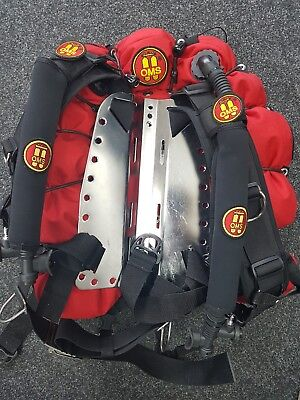 OMS TRIESTE WING And Backplate Scuba Diving