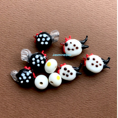 Chicken Handcrafted Charms Loose Beads 20mm*6 Pick Colors