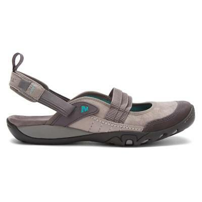 86aa2d5df936 MERRELL MIMOSA DRIZZLE Womens 7 Gray Suede Thong Slingback Sport ...