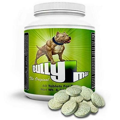 Bully Max Ultimate Canine Dogs Supplement Increase Strength Muscle Power, 60 Tab