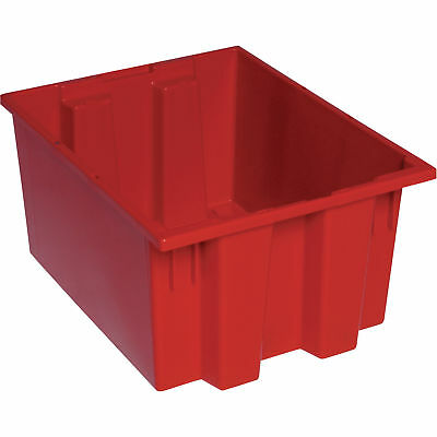 Quantum Stack and Nest Tote Bin-19 1/2in x 15 1/2in x 10in Size RD #SNT 190 R