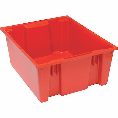 Quantum Stack and Nest Tote Bin-23 1/2in x 19 1/2in x 10in Size RD #SNT 225 R