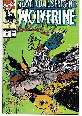 Marvel Comics Presents (1988) 86 Signed by Peter David Autographed Wolverine