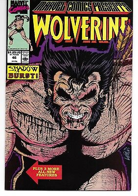 Marvel Comics Presents (1988) 46 Signed by Marshall Rogers Autographed Wolverine
