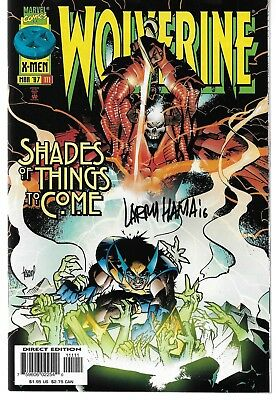 Wolverine (1988) #111 Signed by Larry Hama Autographed