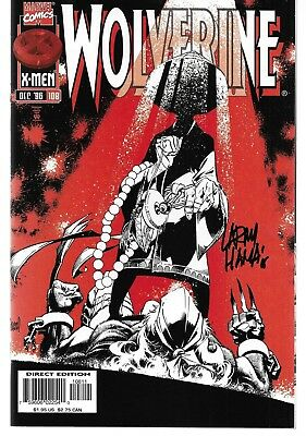 Wolverine (1988) #108 Signed by Larry Hama Autographed
