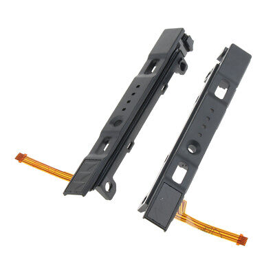 Left Right Rail Slider Assembly with Flex Cable for Nintendo Switch Joy-con
