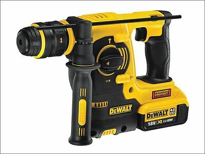 Dewalt DCH254M2 SDS Plus 3 Mode Hammer Drill 18 Volt 2 x 4.0Ah Li-Ion