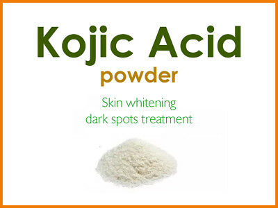 Kojic Acid 99% Powder-Skin Lightening/Bleaching-Lotion,Cream,Soap- Multi Listing