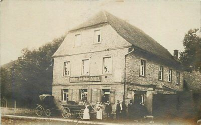 Gasthaus Rolf Michael Reinhardt C-1910 Germany RPPC Photo Postcard 12979