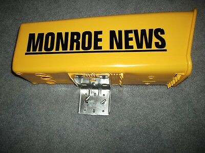 large monroe news Newspaper tube with bracket and ubolt. new!!