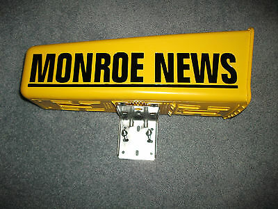 small monroe news Newspaper tube with bracket and ubolt.