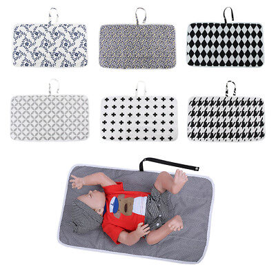 Portable Cotton Baby Diaper Changing Mat Foldable Waterproof Travel Change Pad