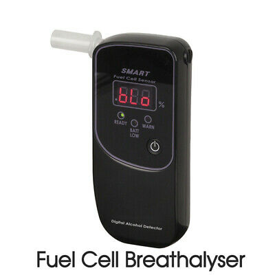 Fuel Cell Breathalyser Digital Readout Protective Case