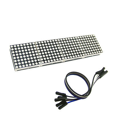 MAX7219 Dot led matrix MCU control LED Display module for Arduino NEW