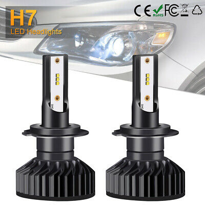 110W 12000LM H7 Lampadine a LED Faro Auto Full Canbus ZES Chip Luci 6500K LD1800