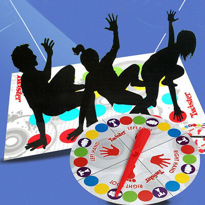 2019 FUNNY TWISTER The Classic Party Body Game Move Board Mat for Family Friends