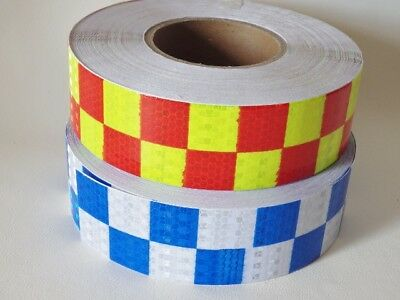 2 metres Square Safety Reflective Self adhesive PVC Hazard Caution Warning Tape