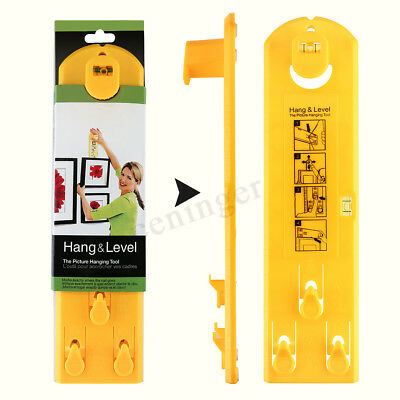 Baban Picture Frame Hanger Wall Hanging Tool Hang Level Makes Easy