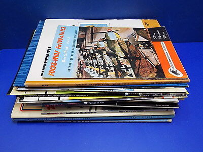 Various Military Aircraft Softback Books - Select From List