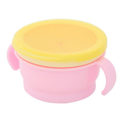 1X Toddler Baby No Spill Active Snack Snacker Useful Container Free Bowl Cup HC