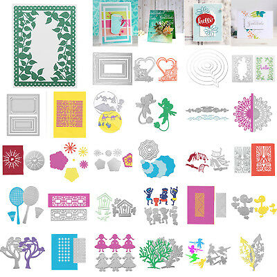 Metal Cutting Dies Scrapbooking Handcrafts DIY Embossing Craft Paper Card