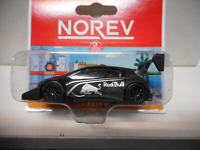 Peugeot 208 T16 Pikes Peak Red Bull Noir Norev 3 Inches 1/64 Blister