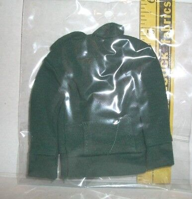 1/6 Scale Male Fashion Doll Olive Green Hoodie Coat Clothes Accessory Only
