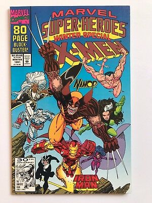 Marvel Super-Heroes1991 Winter Special #8 1st Squirrel Girl Appearance VF