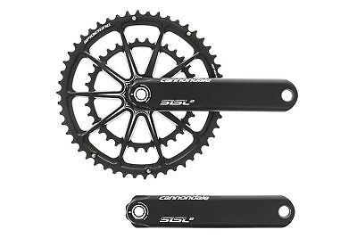2407ddb8133 CANNONDALE HOLLOWGRAM SISL 2 Crank Set 11 Speed 175mm 50/34T BB30 ...