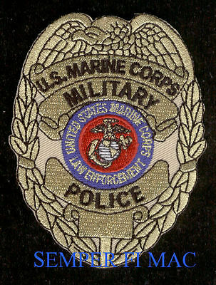 # Commemorative Military Police Mp Us Marines Patch 50Th Anniversary Mr Sl194