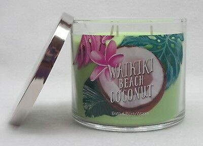 1 Bath Body Works Frosted Coconut Snowball Scented Large 3
