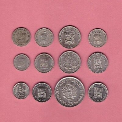 Venezuela - Coin Collection Lot - World/Foreign/South America