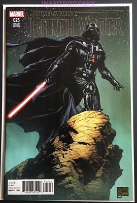 Darth Vader #25 Quesada Variant Cover 1:100 Marvel Star Wars Comic Booko New 1