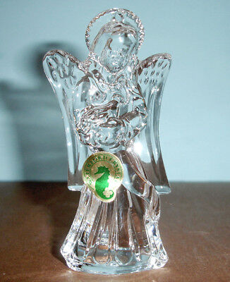 Waterford Crystal Angel Ornament w/Jeweled Enhancer 2013 #160058 New