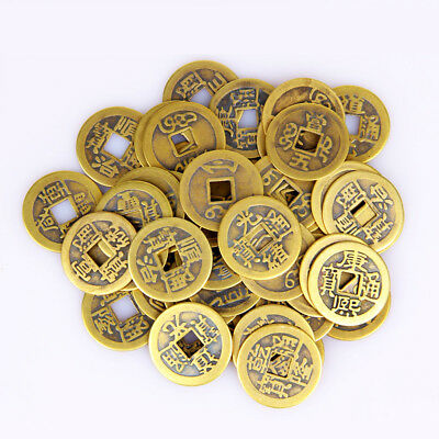10Pcs Chinese Antique Coins Copper Alloy Dynasty Wealth Collectibles Art Craft