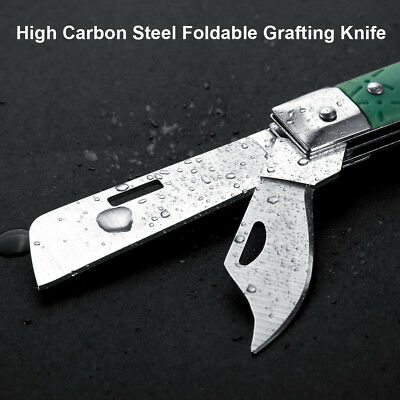 3 Blade Garden Foldable Grafting Knife Pruning Seedling Cutter Cutting Tool