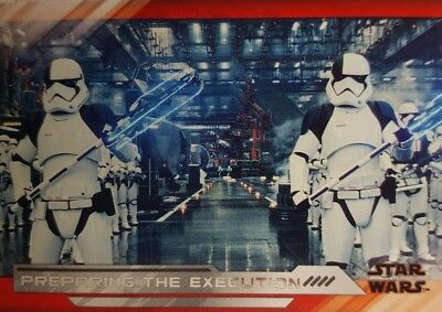 2018 Star Wars Episode 8 THE LAST JEDI Trading Card Set of 100  SERIES II  ( 2)