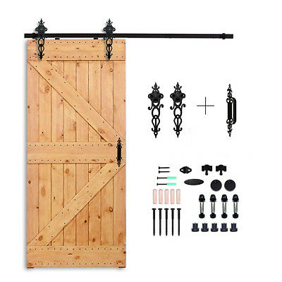 224433664m Antique Sliding Barn Door Hardware Track Set Track
