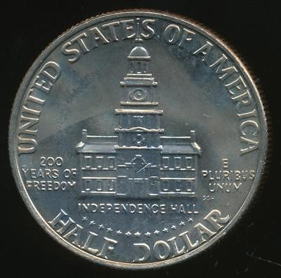 United States, 1976 Half Dollar, 50c, Kennedy (Bicentennial) - Uncirculated