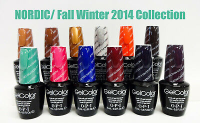 GC N39- N50 # Gelcolor Nail Polish NORDIC/ Fall Winter Collection NEW