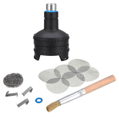 Black Plastic Easy Valve Filling Chamber Housing Parts For Volcano Replacement