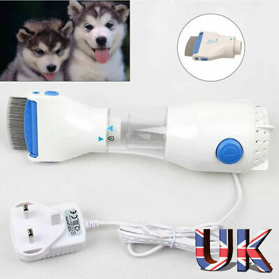 Electric Head Electronic Lice nit Comb Filter Detects & Kills Headlice for Pet