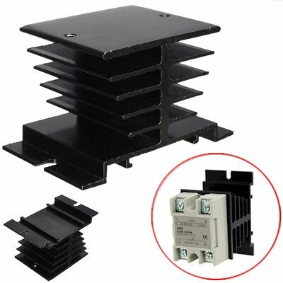 10A~40A Aluminum Heat Sink For Solid State Relay SSR Type Heat Dissipation