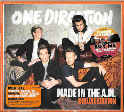 One Direction – Made In The A.M. CD Deluxe Edition USED Australia Digipak
